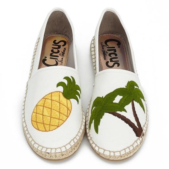 3becc4089 Sam Edelman Leni Pineapple   Palm Trees Espadrille.  M 5c54c45e3c98441779732686
